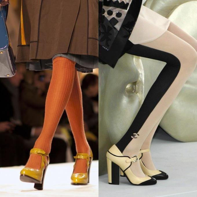 Туфли Мери Джейн под платье