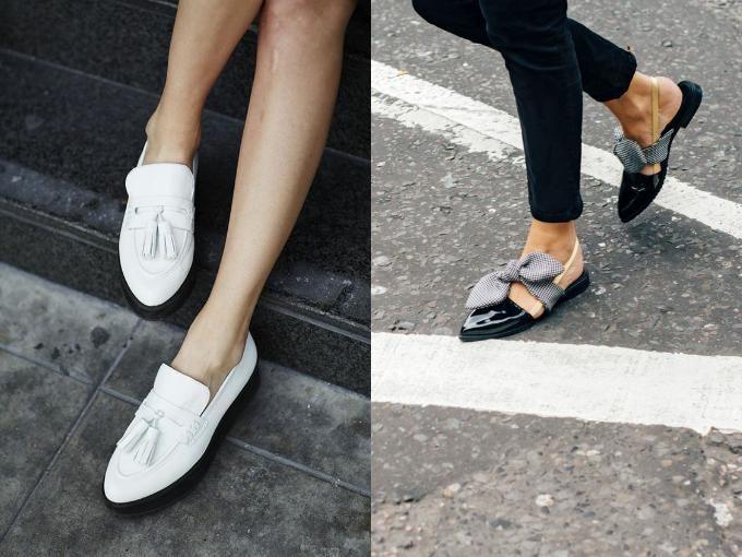 Женские туфли в 2017 году без каблука