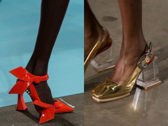 многообразие форм каблуков