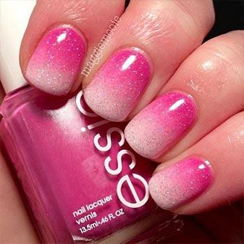 Модный розовый градиент