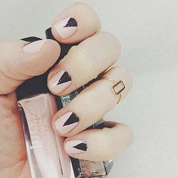 Минделевидная форма ногтей