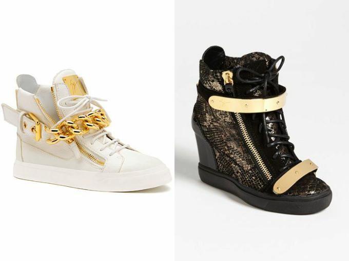 обувь с декоративными элементами