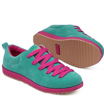 Яркие контрастные шнурки
