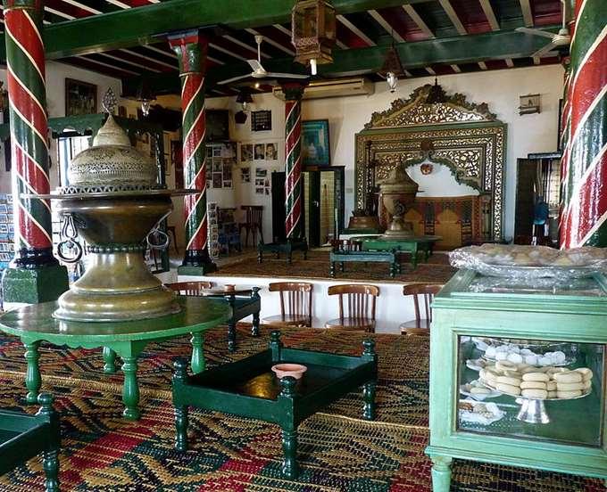Кафе Nattes в Тунисе