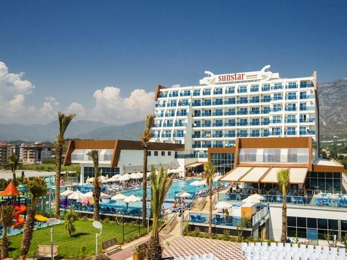 Здание отеля Sunstar Beach Resort Hotel 5*
