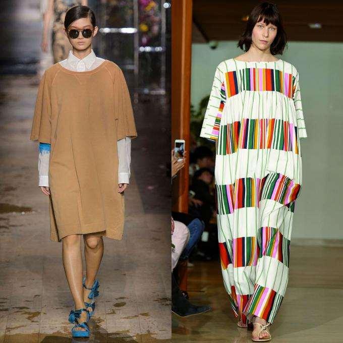 Модный стиль oversize
