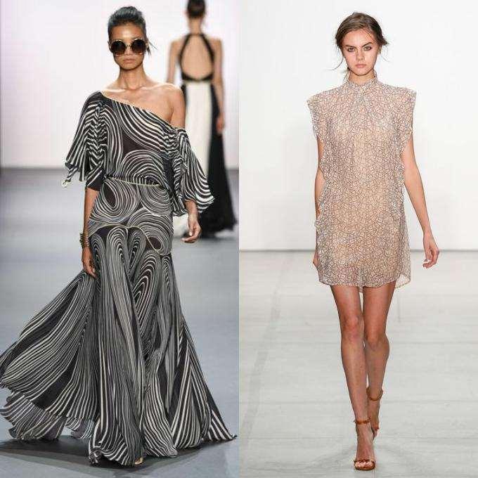 Фасоны платьев разная длина