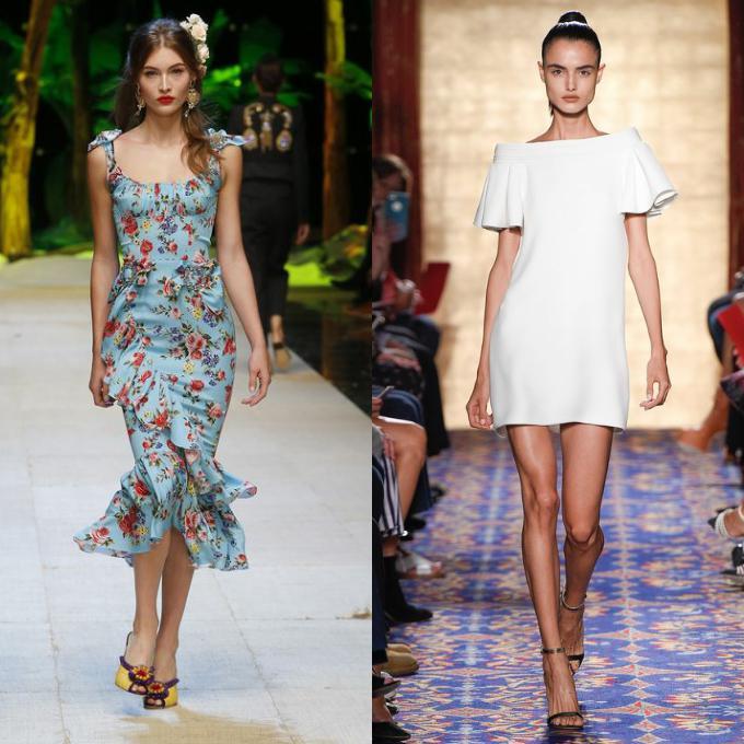 Тенденции летних платьев 2017