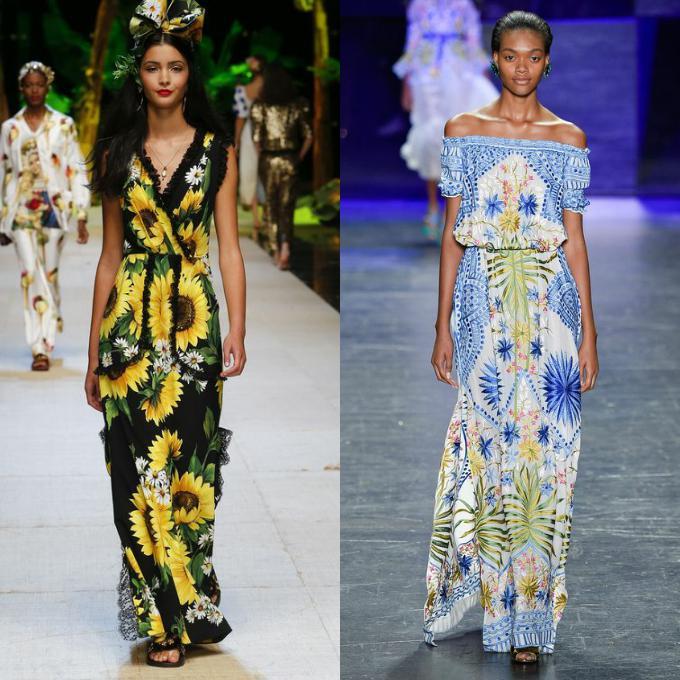 Модные классические сарафаны